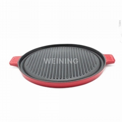 Cast Iron Enamel And Griddle