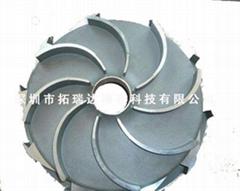 叶轮不锈钢精密铸造 303、304、316铸造-广州精密铸造