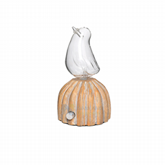 Essential oil diffuser nebulizer, waterless, solid wood