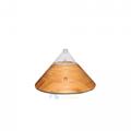 Elegant design Essential oil diffuser nebulizer with LED warm light 1