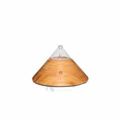 Elegant design Essential oil diffuser nebulizer with LED warm light