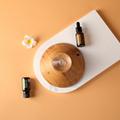 Elegant design Essential oil diffuser nebulizer with LED warm light 4