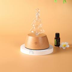Chrismas tree shape aroma nebulzier with LED warm light