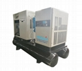 Compact Skid Refrigerator Air Dryer 7bar 8bar 10bar Rotary Mini Screw Air Compre