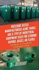 200L 300L Oxygen Gas Pressure Vessel Buffer Tank Air tank