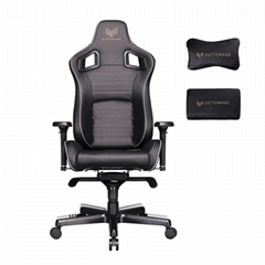VICTORAGE Bravo Series PU Leather Luxury Office Chair Home Chair(carbon)