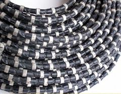 花崗石礦山開採金剛石串珠繩-Diamond wire for granite quarry