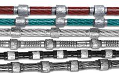 花崗岩整形繩Diamond Wire Saw for Granite Block Profiling and Squ