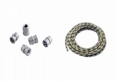 釬焊金剛石串珠繩--Vacuum Brazed Diamond Bead & Wire