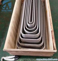 ASTM A213 304 304L 316 316L U Bend Heat Exchanger Tube Boiler Pipes