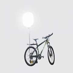 Outdoor portable bike led mobile inflatable balloon light tower easy to use