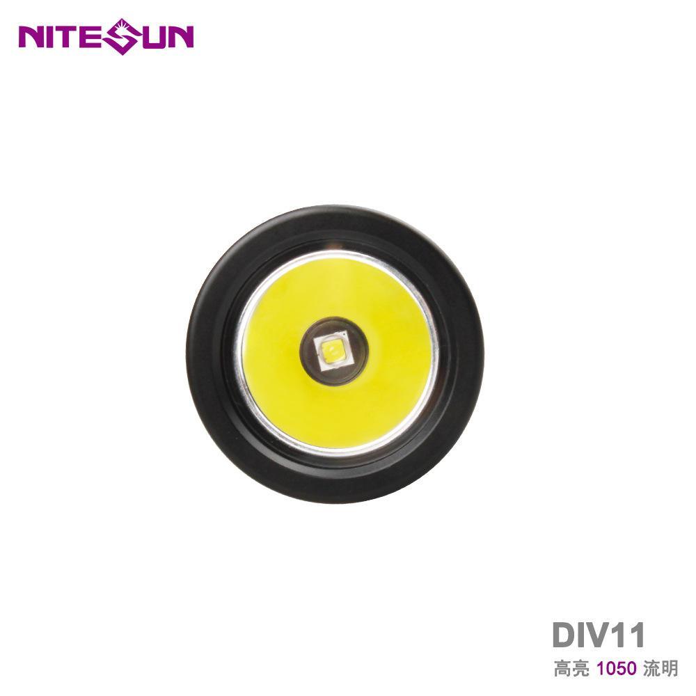 廠家直銷跨境熱款強光潛水LED手電筒DIV11深度技術潛水備用探照燈 2