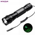 夜光nitesun紫光綠光LED 戶外戰朮強光攻擊頭小手電筒D38 定製 2