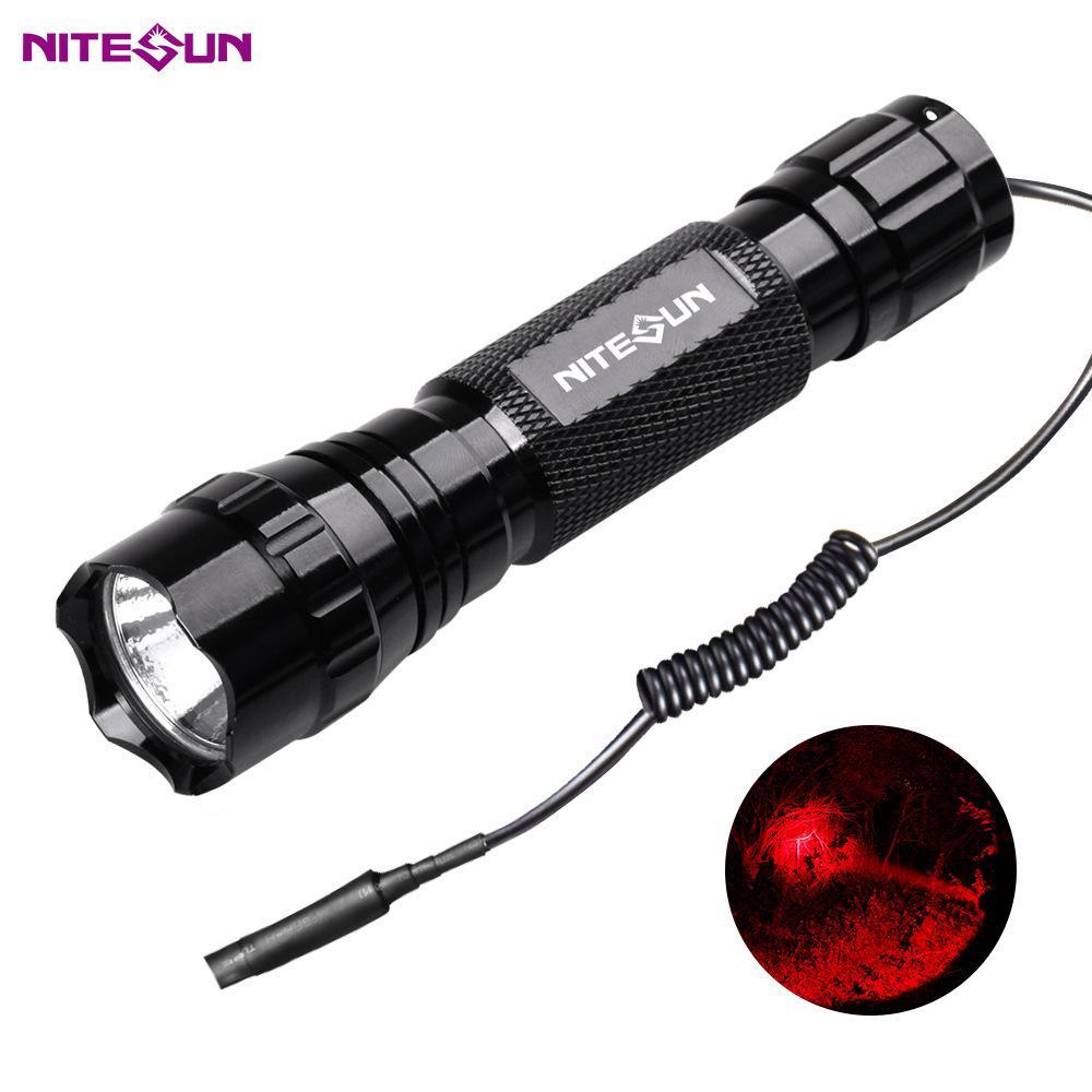 夜光nitesun紫光綠光LED 戶外戰朮強光攻擊頭小手電筒D38 定製 3