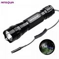 夜光nitesun紫光綠光LED 戶外戰朮強光攻擊頭小手電筒D38 定製 4