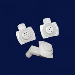 customization Ceramic Va  e Parts alumina zirconia material no leakage