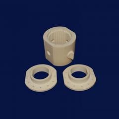 99 Alumina Ceramic Parts Rings Round Ceramic Heater Ceramic Ring Heater