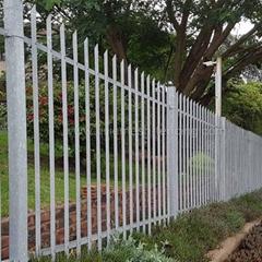 Ga  anized Palisade Security Fence