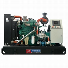 Huaquan 75kw Gas Generator Three Phase 220v Electric Water Cooled