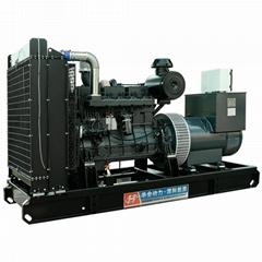华全350千瓦柴油发电机组六缸220V交流发电机