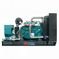 HUAQUAN 250kw weichai gas generator set Alternator 220v 3 Phase genset for sale