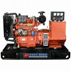 华全40千瓦里卡多柴油发电机组无刷发电机50赫兹220伏交流电
