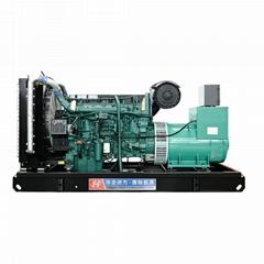 出售华全300千瓦沃尔沃柴油发电机水冷交流电机220伏特