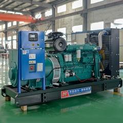 华全300千瓦里卡多柴油发电机组电启动发电机组待售