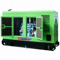 华全小型家用静音柴油发电机组50千瓦潍坊发动机
