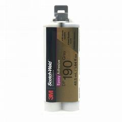 3M DP190胶水柔性环氧树脂AB胶 金属塑料粘接结构胶