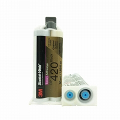 3M DP420NS黑色環氧膠AB膠 碳纖維木頭金屬結構膠水