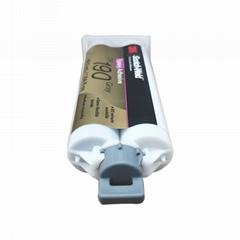 3M DP190胶水柔性环氧树脂结构胶 金属塑料碳素纤维粘接剂AB胶