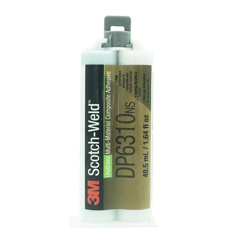 3M DP6310NS低氣味雙組份聚氨酯結構膠 粘接復合材料粘結劑AB膠 2