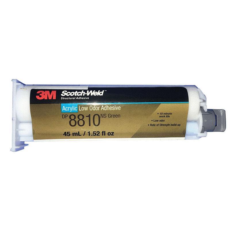 3M DP8810NS綠色低氣味丙烯酸結構膠 粘接金屬塑料快干型AB膠 1