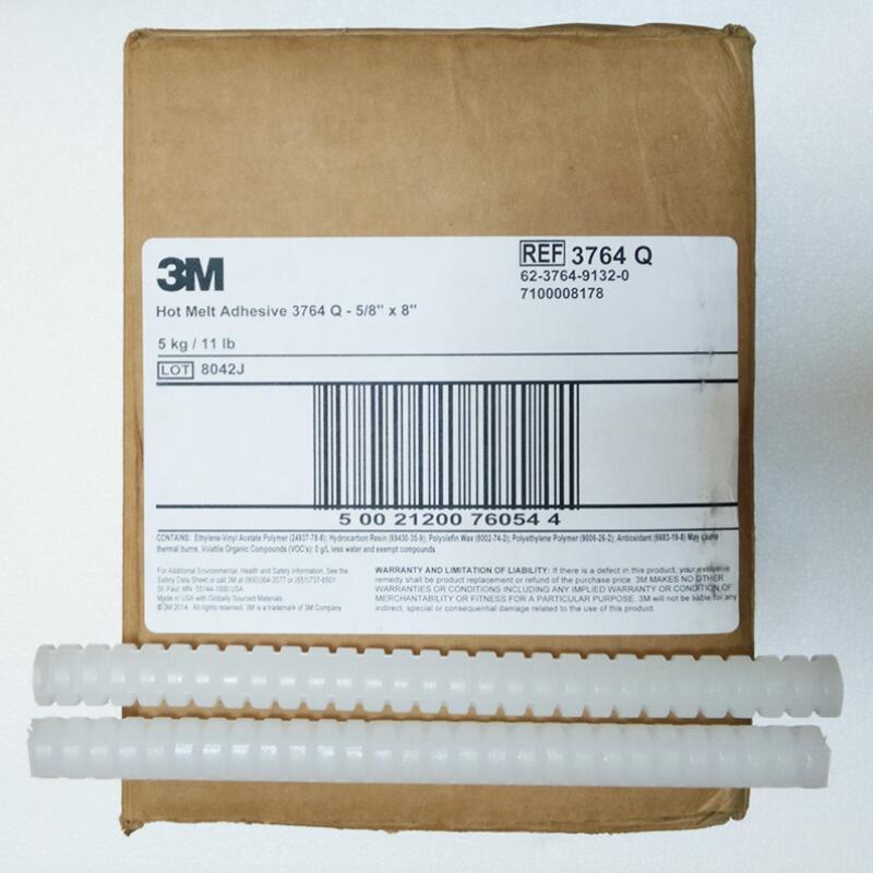 3M 3764Q熱熔膠棒環氧樹脂膠條 熱熔膠棒強力高粘膠條 5