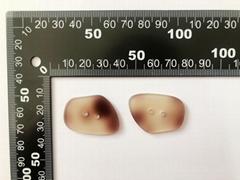 Fashion Irregular shape button 34mm