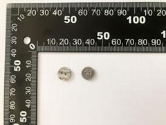 Natural Smoke Shell Button 16L