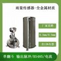 抗撞击防腐蚀全金属雨量传感器 1