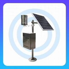 无线雨量测站