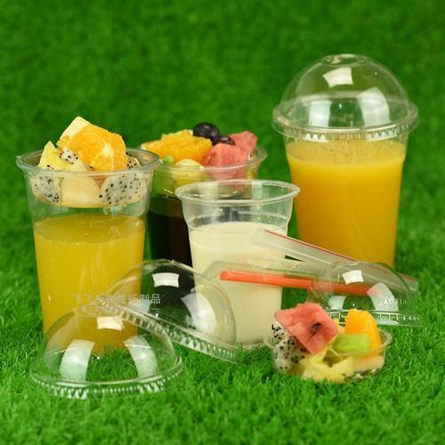Disposable 12oz 16oz Logo Customized Plastic Pet Cup 4