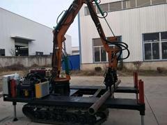 錨固鑽機套管裝卸機械手