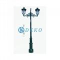 DK CLASSICAL LIGHT POLE 02  DEKO-Ductile