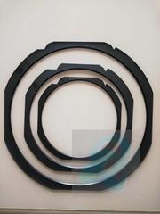 全尺寸定制尺寸黑色晶元环塑料贴片环半导体后道环全新防静电