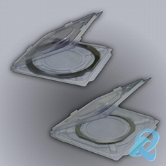 全尺寸晶圆包装盒硅片包装盒单片包装盒承载运输盒