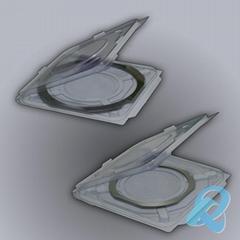 全尺寸晶圓包裝盒硅片包裝盒單片包裝盒承載運輸盒