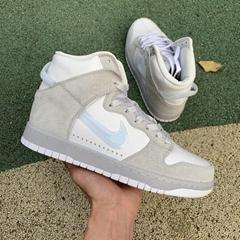 women shoe White Pure Platinum      Dunk High Slam Jam mens sneaker  (Hot Product - 1*)