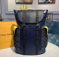 Christopher Backpack PM Bags M55111    Damier Graphite Canvas Epi