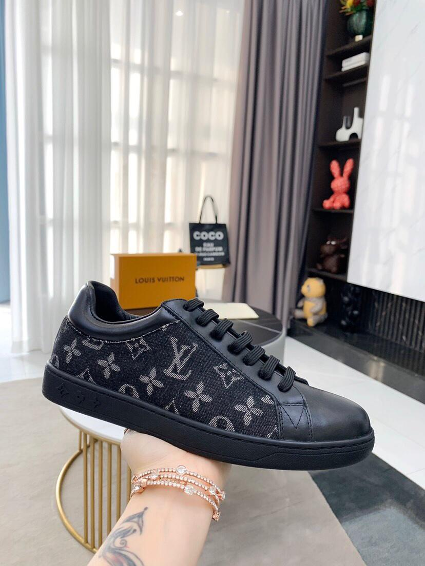 Game On Stellar high top Sneaker Boot Monogram-canvas piping shoes 18