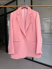 Max Mara Cotton gabardine blazer women coat ol clothes spring jacket