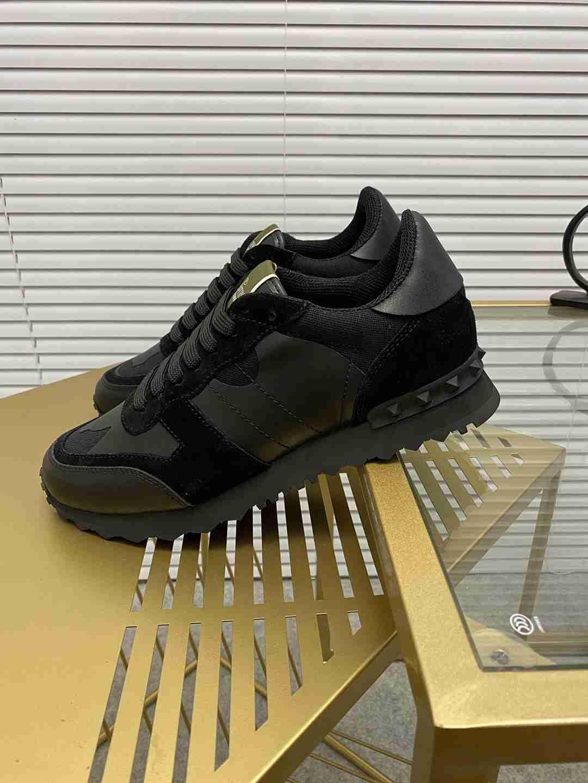 Garavani women Camouflage Noir Sneaker wholesale fake shoes 7